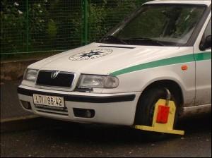 Přijímací testy pro strážníky obecní policie.